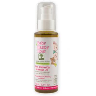 Расслабляющее (успокаивающее) массажное масло для младенцев