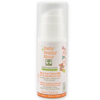 Детское солнцезащитное молочко с высоким солнцезащитным фактором SPF 30