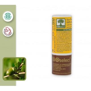 100% Натуральный солнцезащитный крем - стик SPF 50