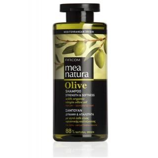 """Оливковый шампунь """"Strength & Softness"""" для сухих волос,  производство Греция"""