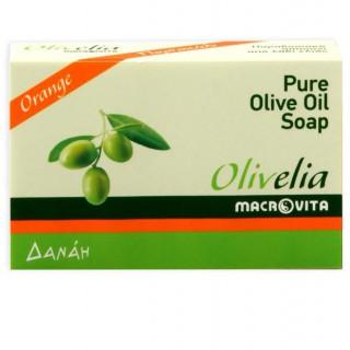 """Традиционное мыло из оливкового масла """"Апельсин"""""""