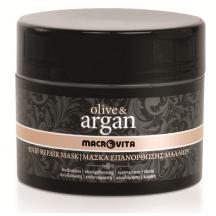 Восстанавливающая маска для волос всех типов OLIVE & ARGAN