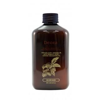 Масло антицеллюлитное, массажное содержит витамин Е, масло макадамии и масло миндаля